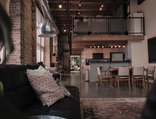 Stile industriale: factory, loft, USA